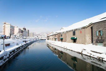 Winter walk city