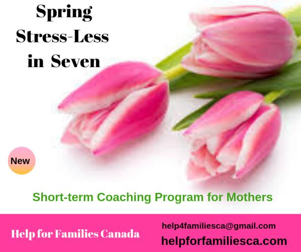 Spring Renewal Moms -7 to Stress-less Momlife